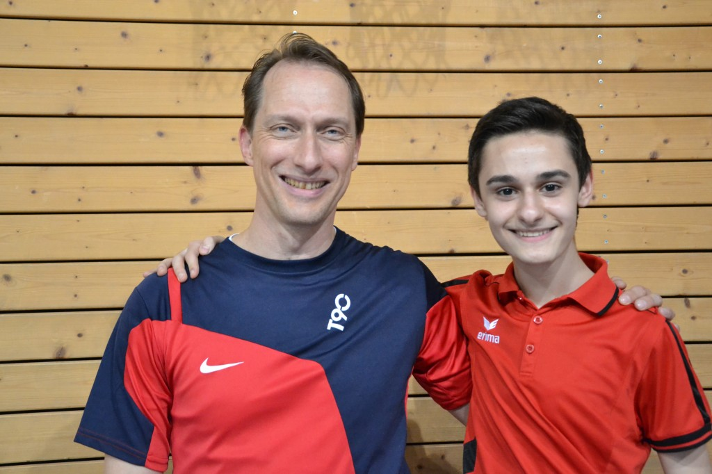 Doppelturniersieger 2013: Michael und Furkan